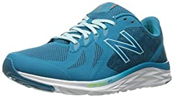 New Balance Women's W790v6, Deep Ozone Blueozone Blue Glowlime Glow, 7 B Us
