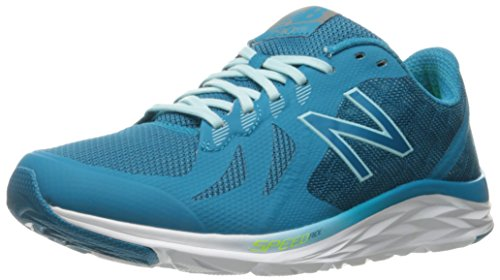New Balance Women's W790v6 Running Shoe Deep Ozone Blue/Ozone Blue Glow/Lime Glow