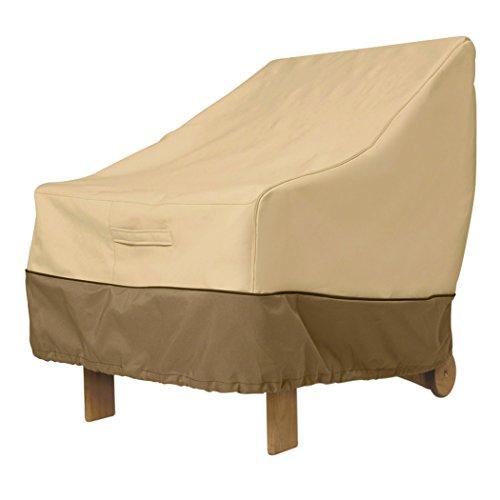 Classic Accessories Veranda Patio Chair Cover for Wicker Furniture, Standard