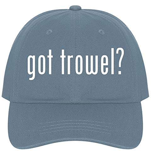 The Town Butler got Trowel? - A Nice Comfortable Adjustable Dad Hat Cap, Light Blue