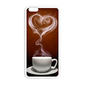 coffee iphone 6 plus - 5.5 Plastic And TPU (Laser Technology) Durable Case