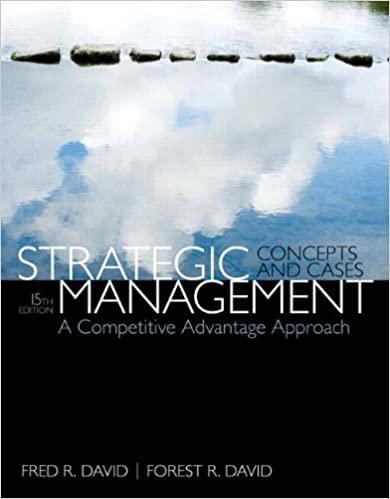 Amazon strategic management a competitive advantage approach strategic management a competitive advantage approach concepts cases 15th edition 15th edition fandeluxe Choice Image