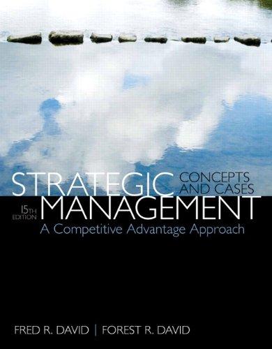 Strategic Management:Concepts+Cases