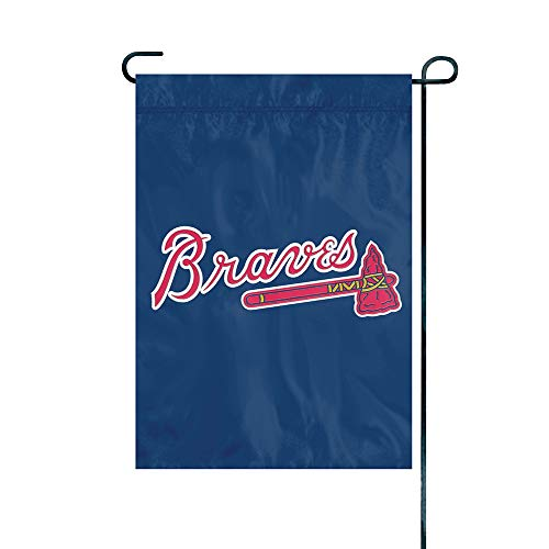 The Party Animal Officially Licensed MLB GMATL Atlanta Braves Premium Garden Flag