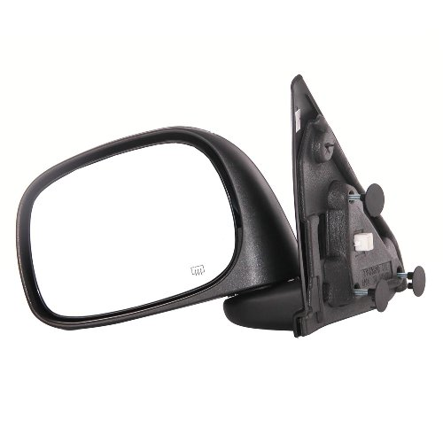 Mirror Llc Electric - CIPA 46432 OE Replacement Electric Heated Outside Rearview Mirror (Black) - Driver Side