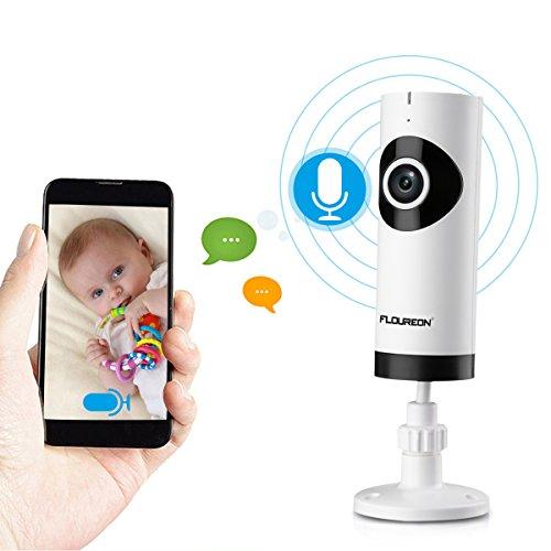 FLOUREON 720P HD Wireless IP Camera Network WIFI Baby Monito