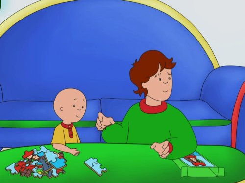 Caillou's Play Time & other Stories: Caillou's Play Time