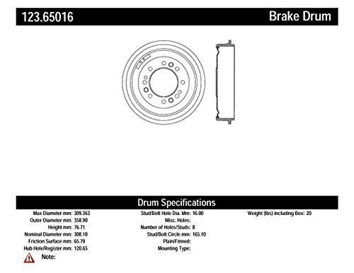 Centric Parts 130.40000 Brake Master Cylinder