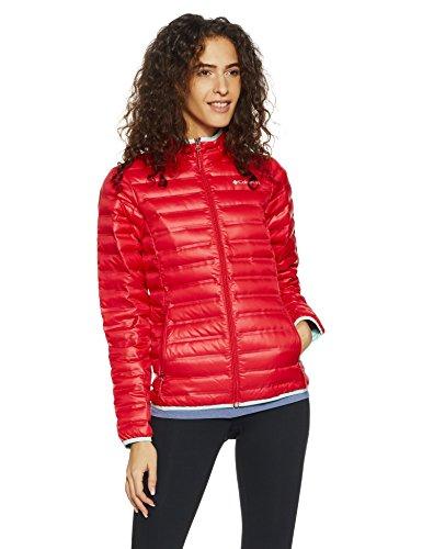 Columbia Women's Flash Forward D Down Jacket Red Camellia/Spray