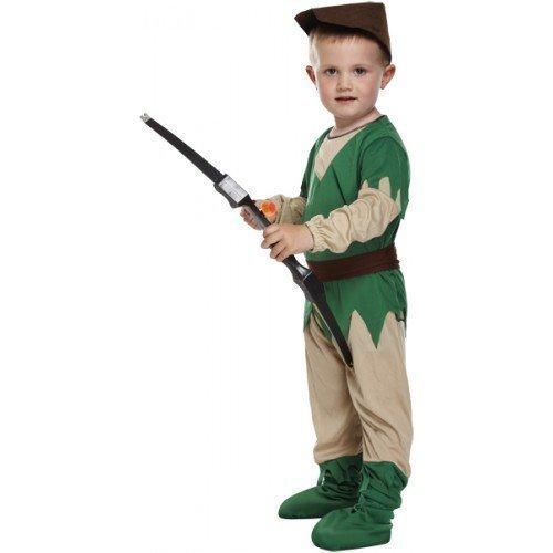 4 Piece Toddler Girls Boys Kids Childu0027s Robin Hood Medieval Halloween Book Day Fancy Dress Costume  sc 1 st  Amazon.com & Amazon.com: 4 Piece Toddler Girls Boys Kids Childu0027s Robin Hood ...