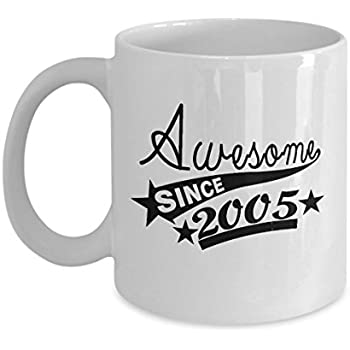 House Warming Gifts Source Amazon Com Happy 11th Birthday Mugs For Teen 11 OZ Awesome Since
