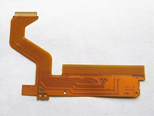 3CLeader? Top Upper LCD Ribbon Flex Cable for Nintendo DS Lite NDSL Replacement Part by 3cleader - Nintendo Ds Ribbon