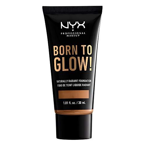 NYX PROFESSIONAL MAKEUP Born To Glow Naturally Radiant Foundation - Honey