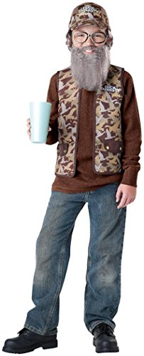 Duck Dynasty Uncle Si Child Costume, Size Medium/8-10