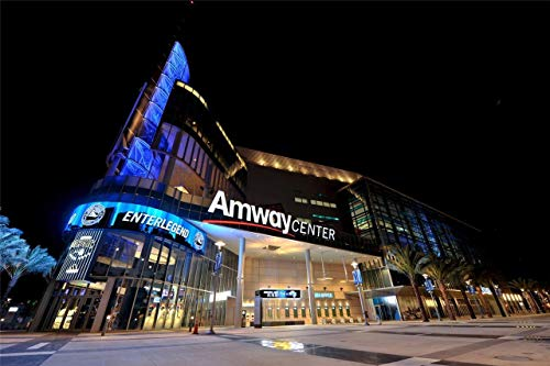 - Home Comforts Canvas Print Amway Center Arena Basketball Orlando Magic Stretched Canvas 32 x 24