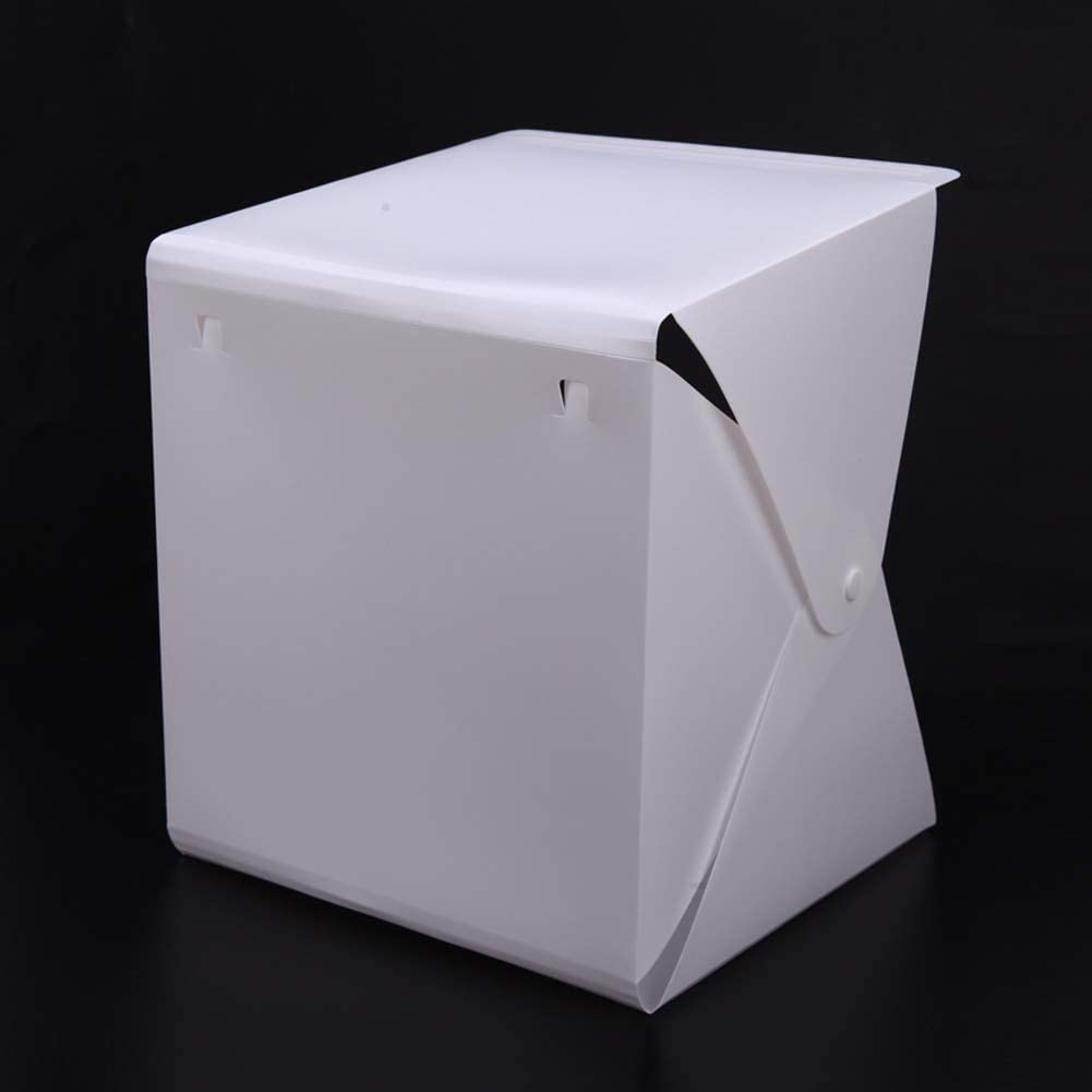 DP-iot Portable Foldable Lightbox Photography Studio Softbox Dimming LED Light Camera Photo Background for Photo