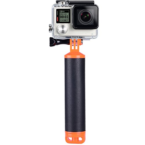Suptig Floating Hand Grip for Gopro Hero 8 Hero 7 Hero 6 Hero 5 Hero 2018 Hero 4 Hero 3 Hero Session and Xiaoyi SJ Camera Handle Mount Accessories Kit Water Sport Pole for Sport Camera