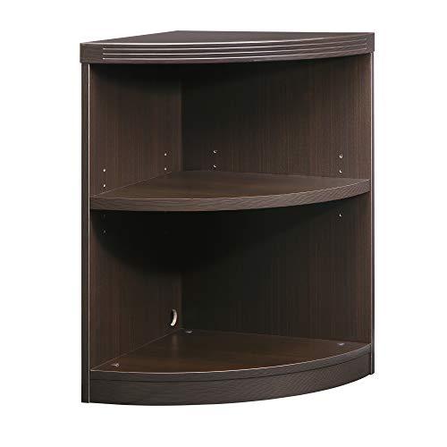 - Mayline ABQ2LDC Aberdeen Quarter Round Corner Bookcase, 2 Shelf, Mocha Tf