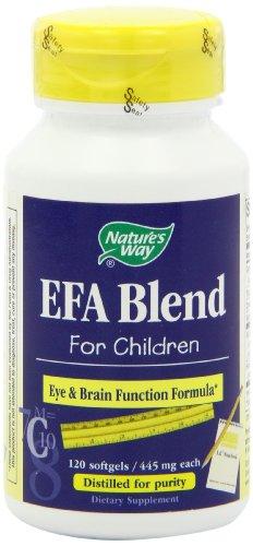 Nature's Way EFA Blend for Children, 120 Softgels