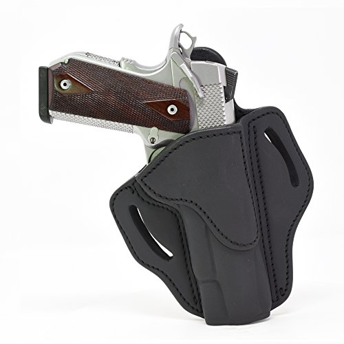 - 1791 GUNLEATHER 1911 Holster, Right Hand OWB Leather Gun Holster for Belts fits All 1911 Models with 4
