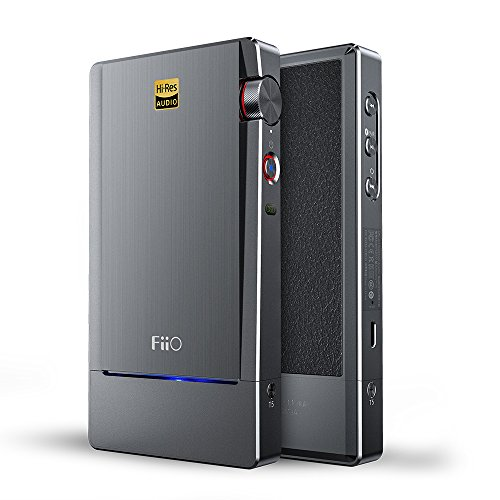 FiiO Q5 Bluetooth aptX and DSD-Capable DAC Amplifier for iPhone, iPod, iPad & Computers with Coaxial/Optical/USB/Line/Bluetooth Input -