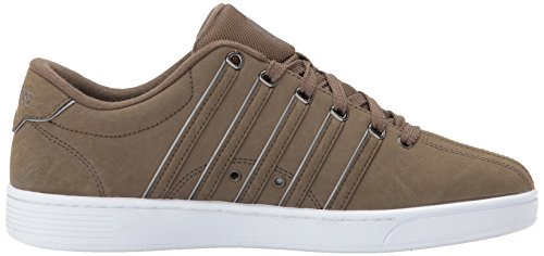 K-Swiss Men's Court Pro II SP P CMF Sneaker Chocolate Chip/White for sale under $60 cheap new arrival 1Ex4Ef1Bmx