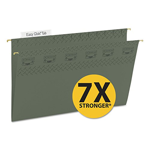 - SMD64136 - Smead TUFF Hanging Folder with Easy Slide Tab 64136