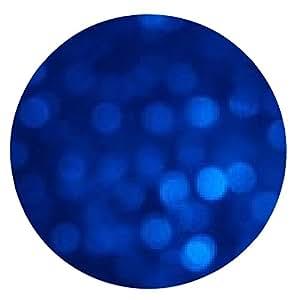 alfombrilla de ratón Antecedentes Bokeh azul - ronda - 20cm