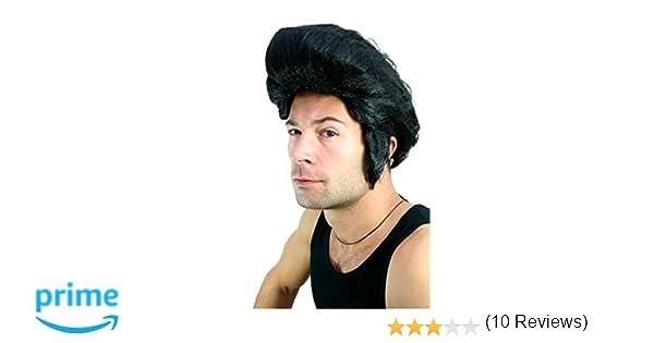 Wig me up, LM-706-P103(A195), Peluca Rockabilly, Elvis, Fonz, años 60, RocknRoll: Amazon.es: Juguetes y juegos