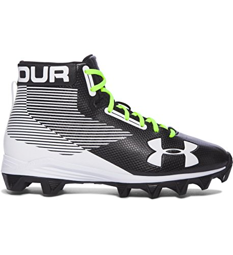 Under Armour Hammer RM Youth Football Cleats (2.5, Black/...