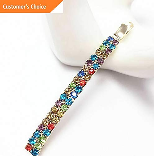 Sandover Hairpin Rhinestone Hair Clip Crystal Bobby Pin Hair Accessories Gifts Jewelry | Model HRPN - 8754 -