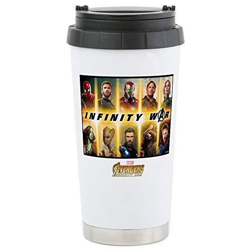 (CafePress Avengers Infinity Stainless Steel Travel Mug, Insulated 16 oz. Coffee)
