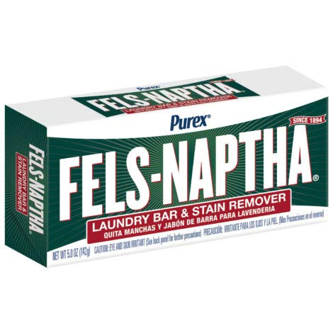 Dial Corporation Fels-Naptha Laundry Bar Soap (Pack of -