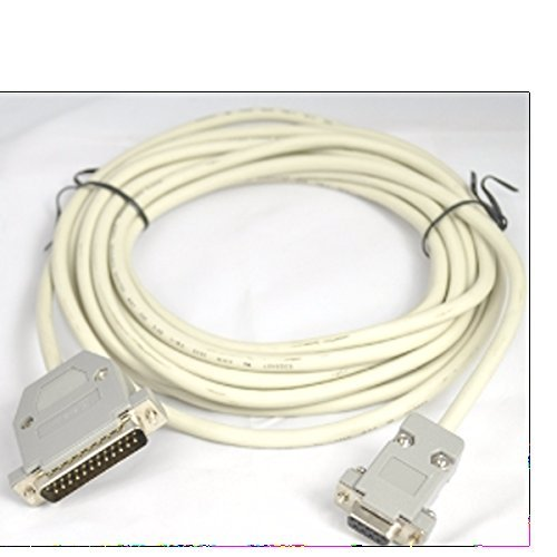 CAS PD-II PC Interface Cable Compatible/Replacement for IBM/PC 9 Pin I/F Cable, RS-232 (8 FT.)