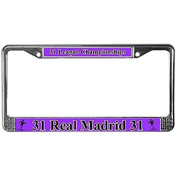 Amazon Com Real Madrid Photo License Plate Automotive