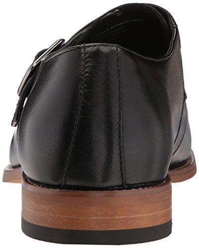 Stacy Adams Mens Desmond Cap Toe Monk-Strap Loafer Black Stwd8Nm