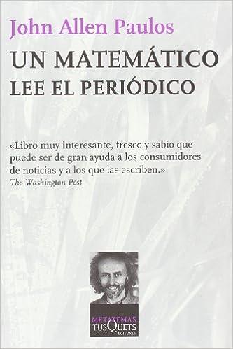 Descarga gratuita de libros de audio para pc. Un matemático lee el periódico (Metatemas) 8472239705 PDF DJVU