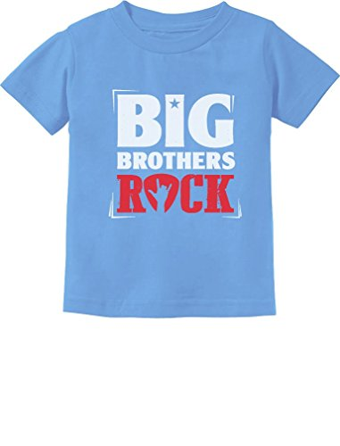 (TeeStars - Boys Big Brothers Rock Best Siblings Gift Toddler/Infant Kids T-Shirt 2T California)