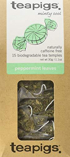 (teapigs Peppermint Leaves Tea, 15 count, 1.06 Ounce)