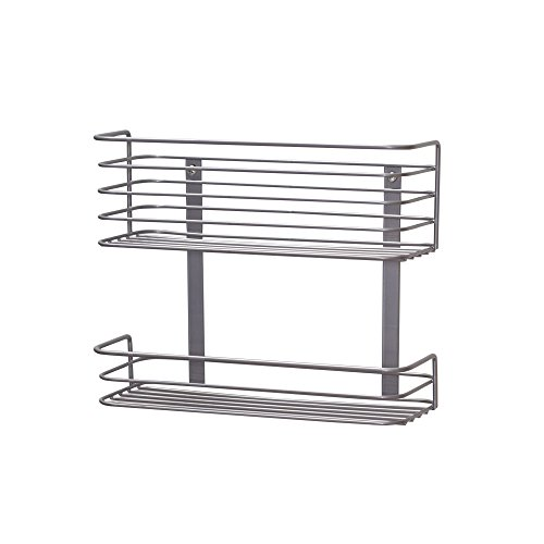 Double Basket Door Mounted Kitchen Basket Organizer