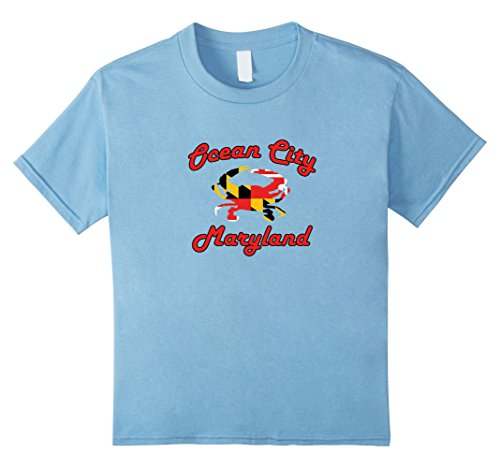 Kids Ocean City Maryland Crab T-Shirt by RangerTees 8 Baby - Maryland Shops Ocean City