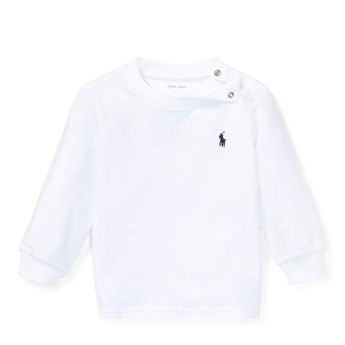 3c14c534237f Amazon.com  Ralph Lauren Little Boys Polo Long Sleeve Cotton Tee  Clothing