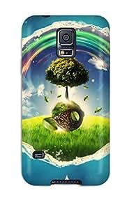 2643787K27626046 New Wonderland Tpu Case Cover, Anti-scratch Phone Case For Galaxy S5