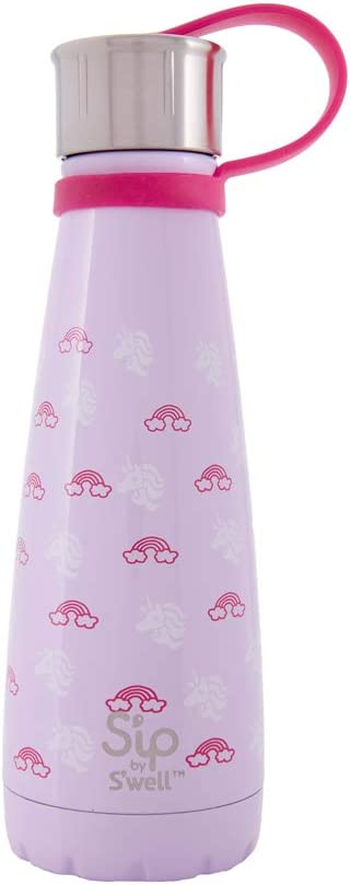 S'ip by S'well 200110530 Stainless Steel Bottle, 10oz, Unicorn Dream