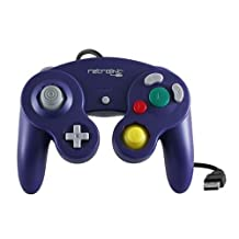 RetroLink Gamecube Style USB Controller for PC and Mac-Purple, PC/Mac/Linux