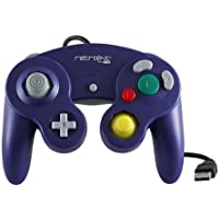 Retrolink RB-PC-739 Wired Gamecube Style USB Controller for PC & Mac, purple