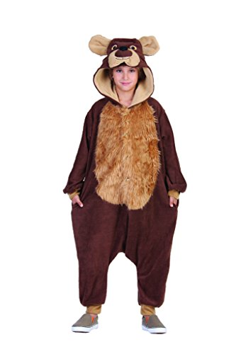 Bear Onesie Child Costume -