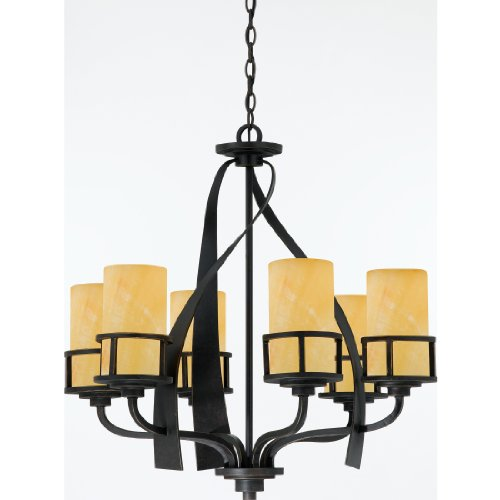 Quoizel KY5006IB 6-Light Kyle Chandelier in Imperial Bronze Review