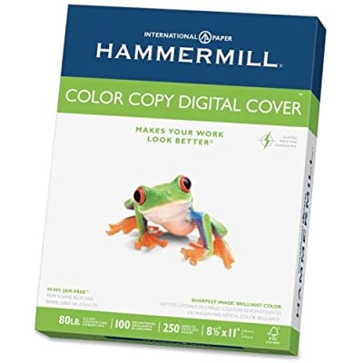 Hammermill Color Copy Paper - Letter - 8.50quot; x 11quot; - 80 lb - Extra Smooth - 100 Brightness - 250 / Pack - White