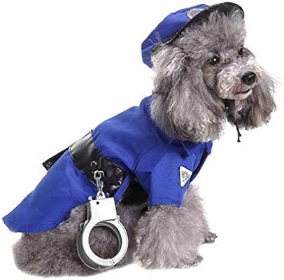 OLADO Divertido Perro Ropa de Halloween Cosplay policía ...